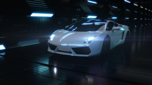 ランボルギーニ 3D CGモデル
