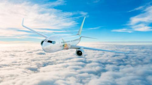 ロータスAir 飛行機の3D CG